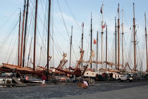Oerol 13 Hafen Westterschelling