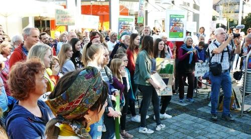 Viele junge Teilnehmer/innen.